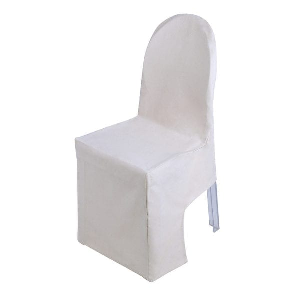 Ghost Chair Cover White Cotton