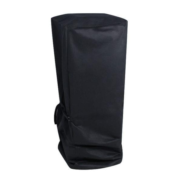 Gun Metal Stool Cover Black